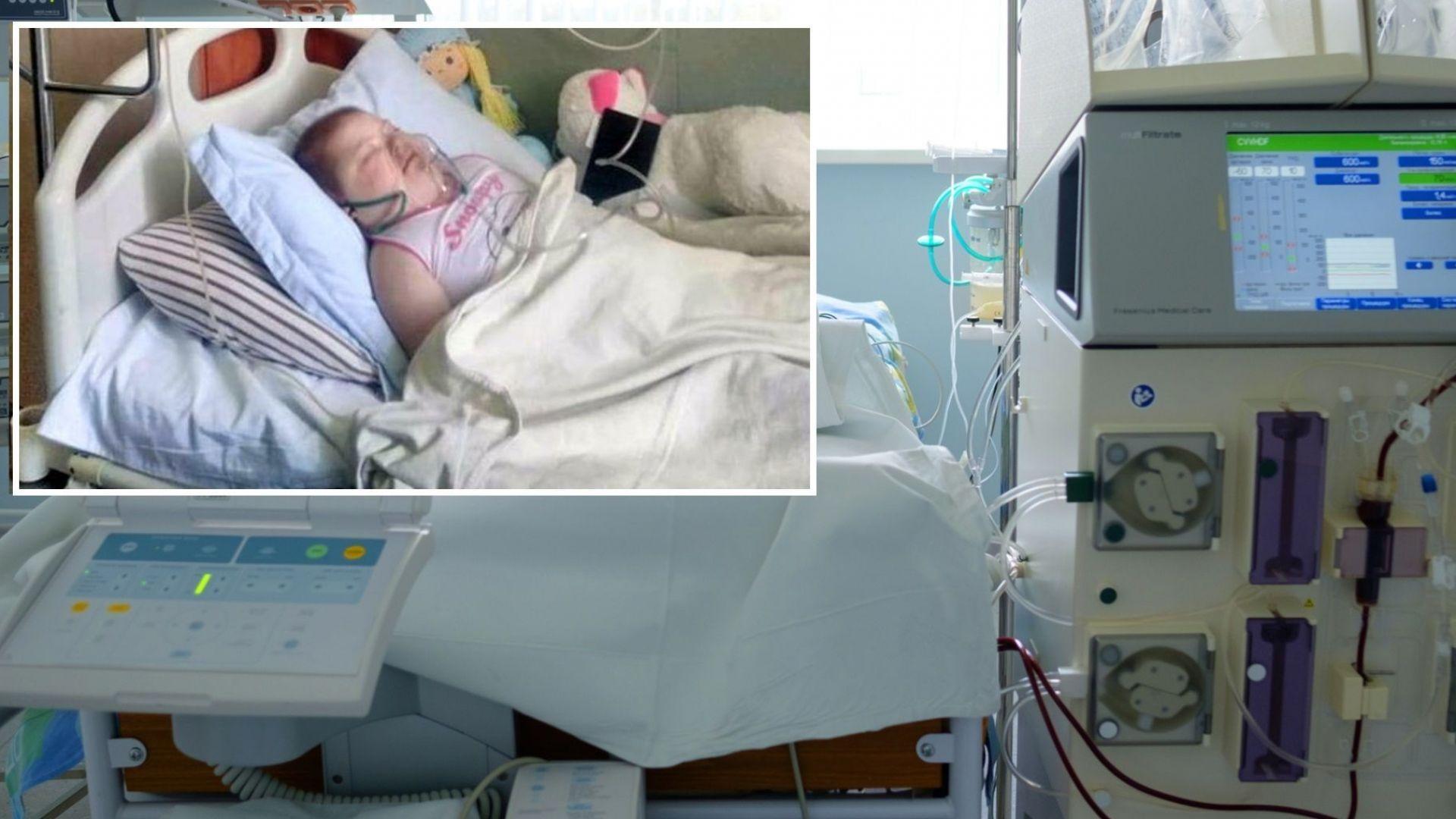 НЗОК не плати лекарства за 14 000 лв. на онкоболно дете в критично състояние