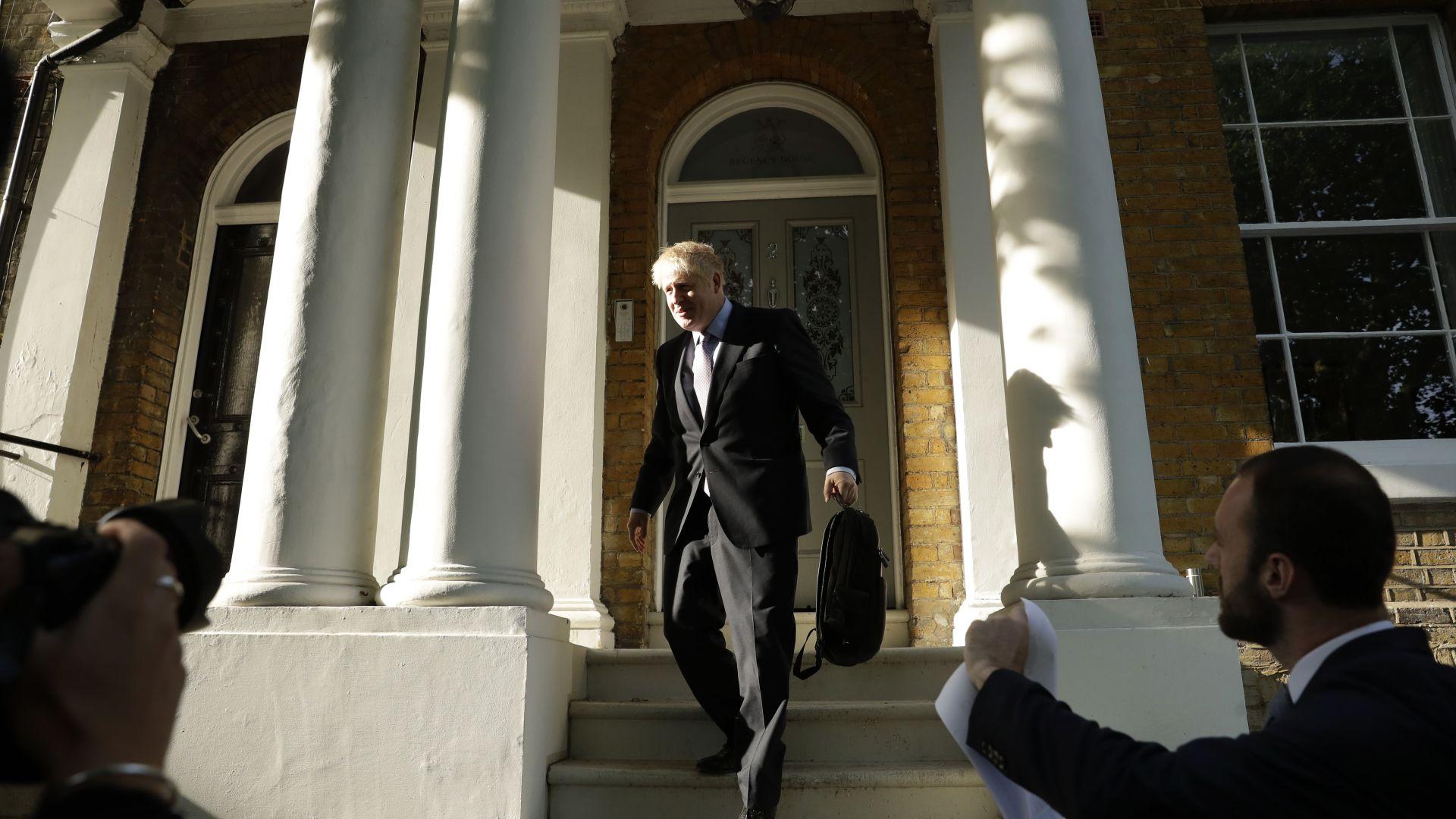 Борис Джонсън, фаворит за мястото на британската министър-председателка Тереза Мей,