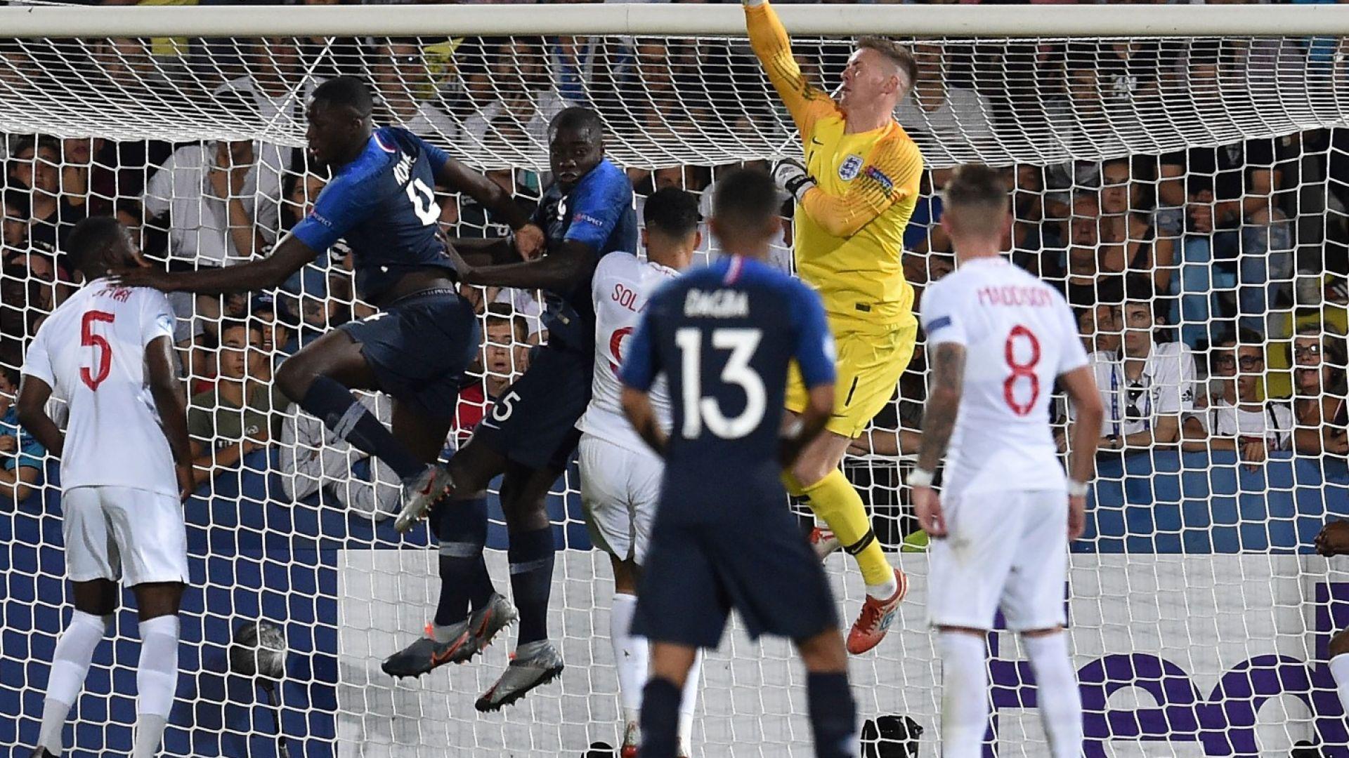 Франция изпусна две дузпи, но обърна Англия в луда драма