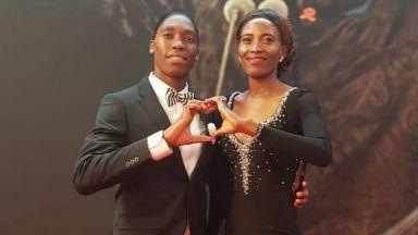 Кастер Семеня се запознала със съпругата си на допинг контрол