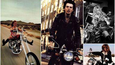 Вижте знаменитости на 20 век върху любимите им мотори