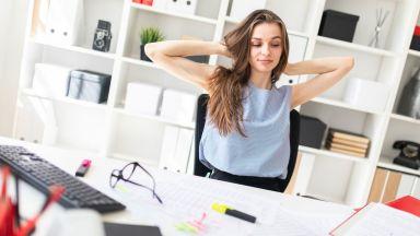 Как да отслабнем от бюрото