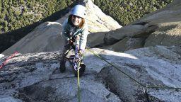 10-годишно момиче покори митичната отвесна скала Ел Капитан (видео)