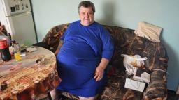 Почина Гриша Георгиев - най-тежкият мъж в България