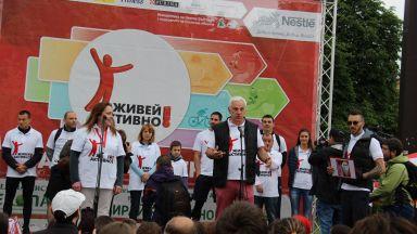 """Републиканските шампионки от ВК """"Марица"""" се присъединяват като посланици на Нестле за Живей Активно!"""