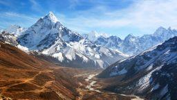 Нарастващ риск от наводнения в Хималаите заради топенето на ледниците