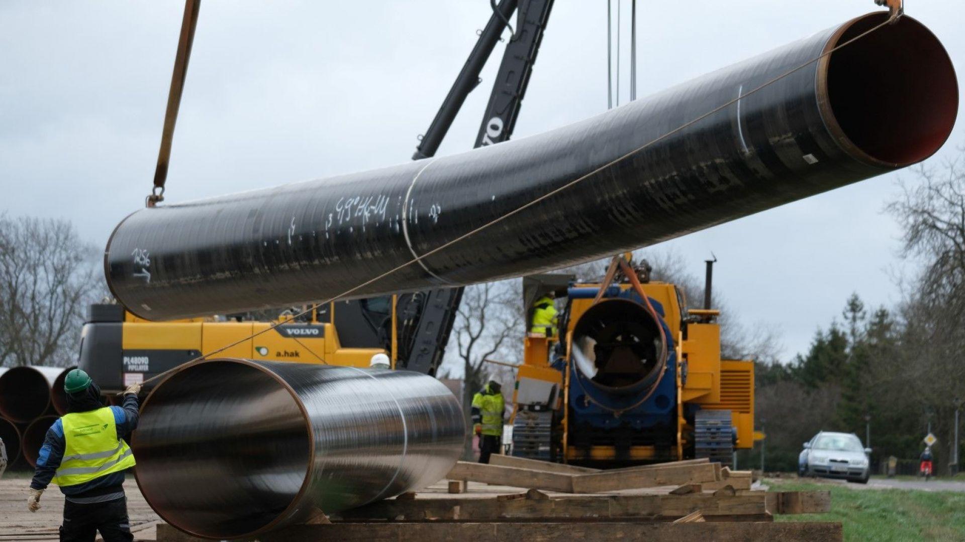 """Регулаторът: Изграждането на """"Северен поток-2"""" във водите на Дания може да продължи"""