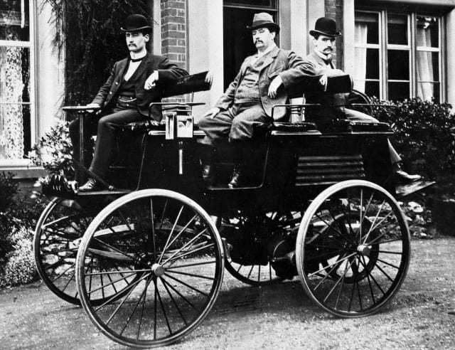 Първият електромобил  на изобретателя Томас Паркър