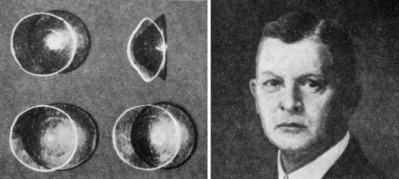 Стъклените лещи от 1888 г. на Адолф Гастон Ойген Фик