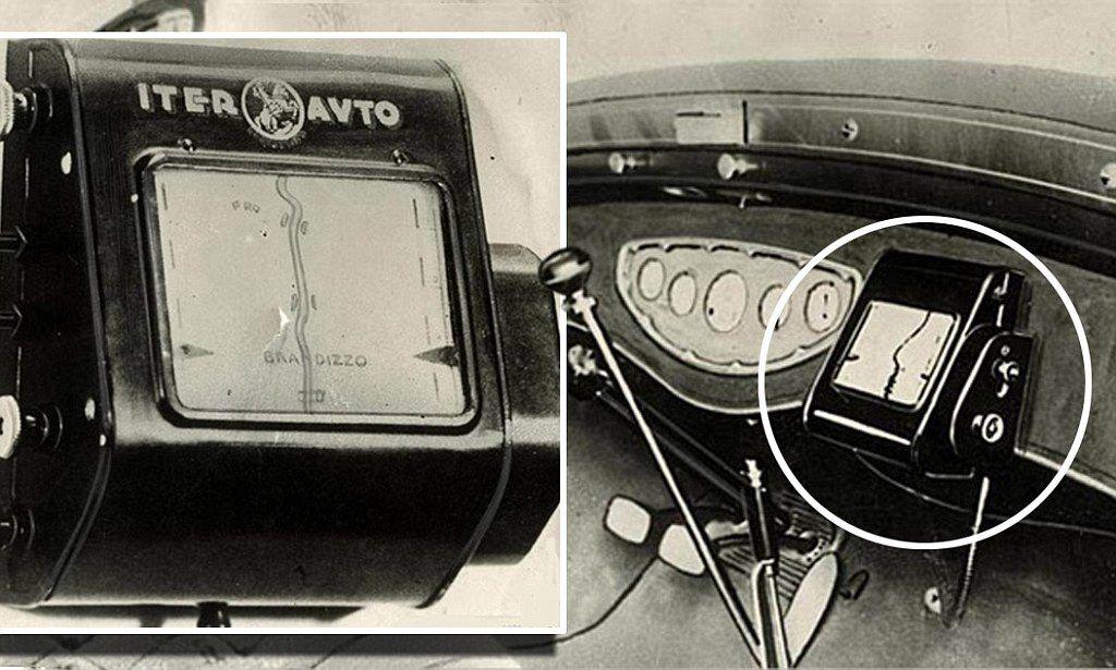 Първата навигация на автомобили е изцяло механична