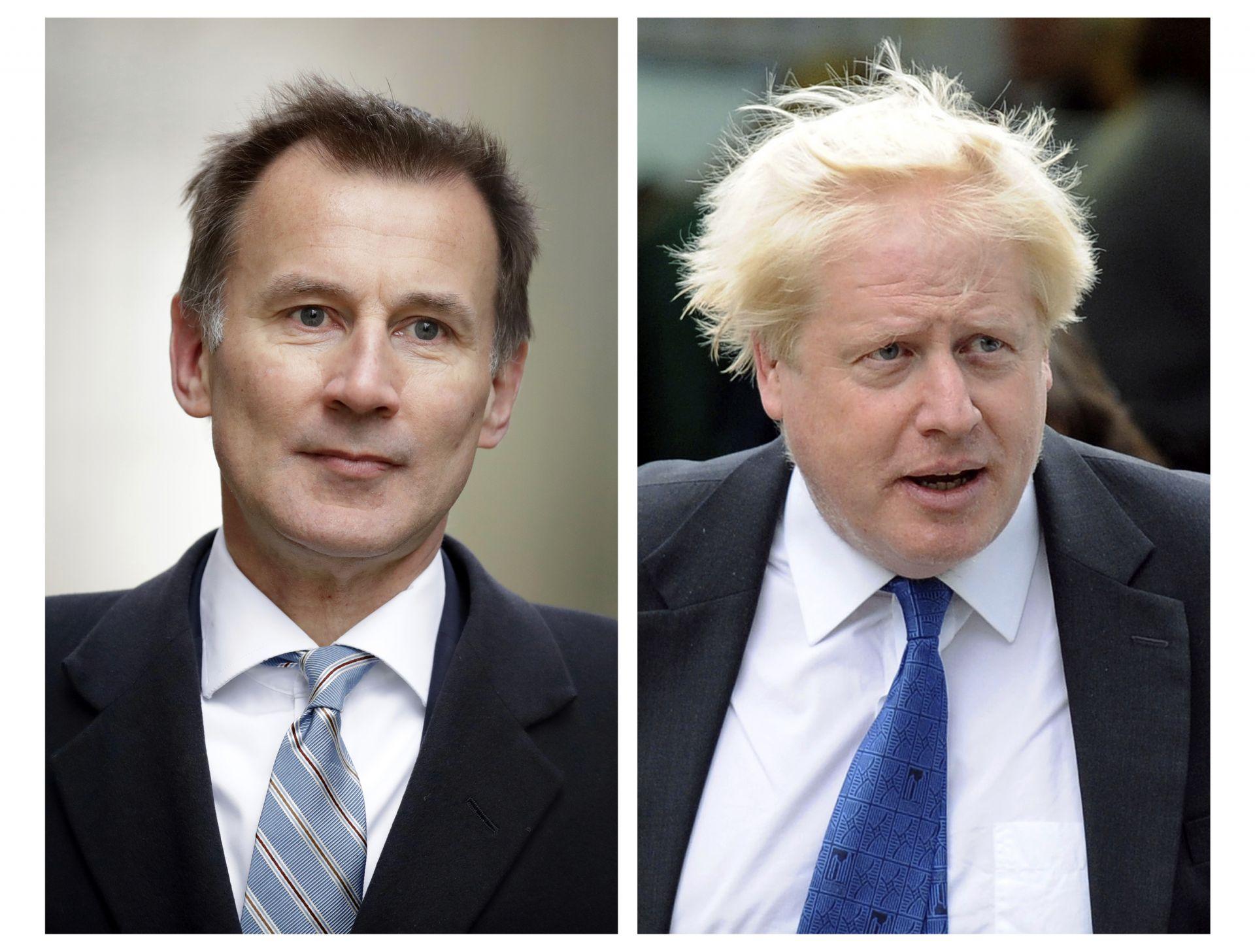 Джеръми Хънт е настоящият външен министър, а Борис  Джонсън - бивш