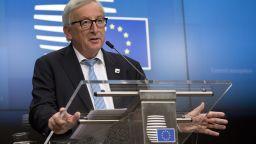 Юнкер: Брекзит е трагичен момент за Европа