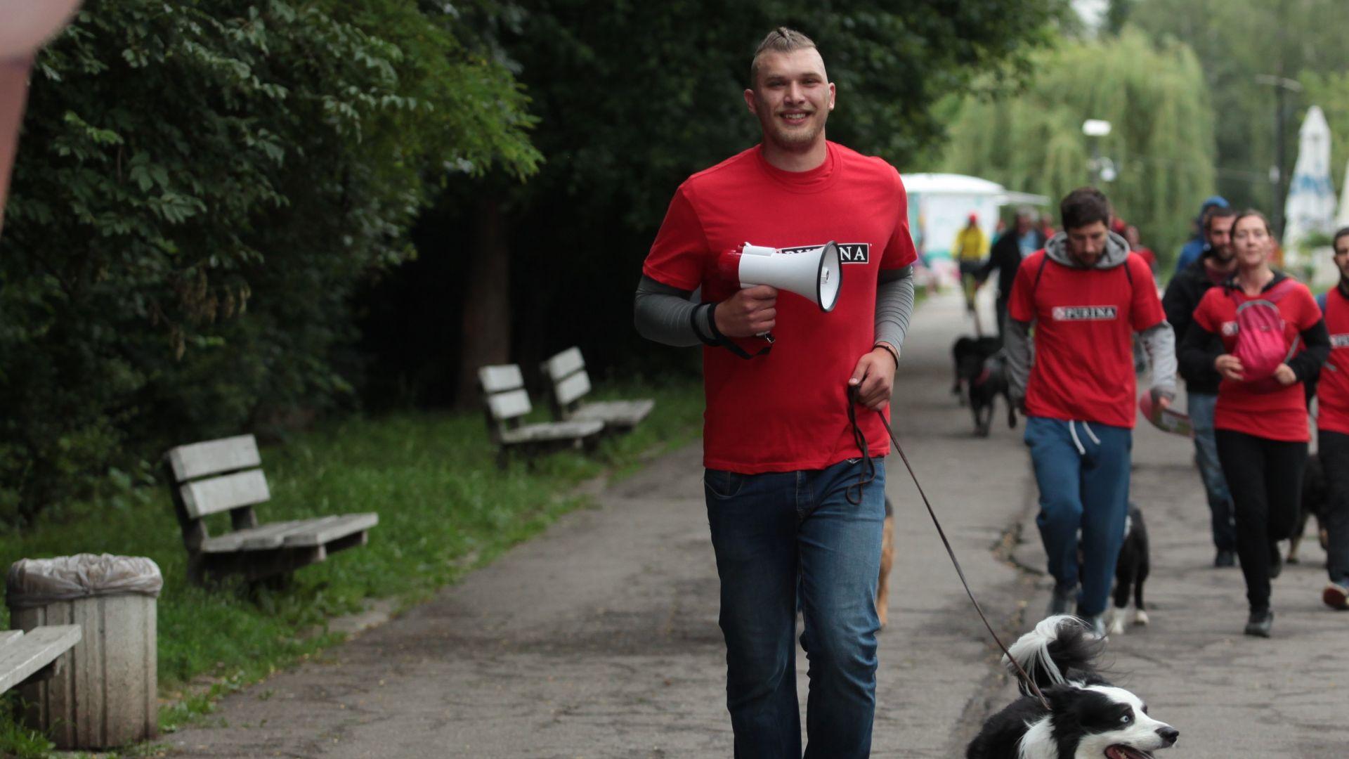 Мащабна тренировка за кучета ще се проведе тази неделя в Борисовата градина