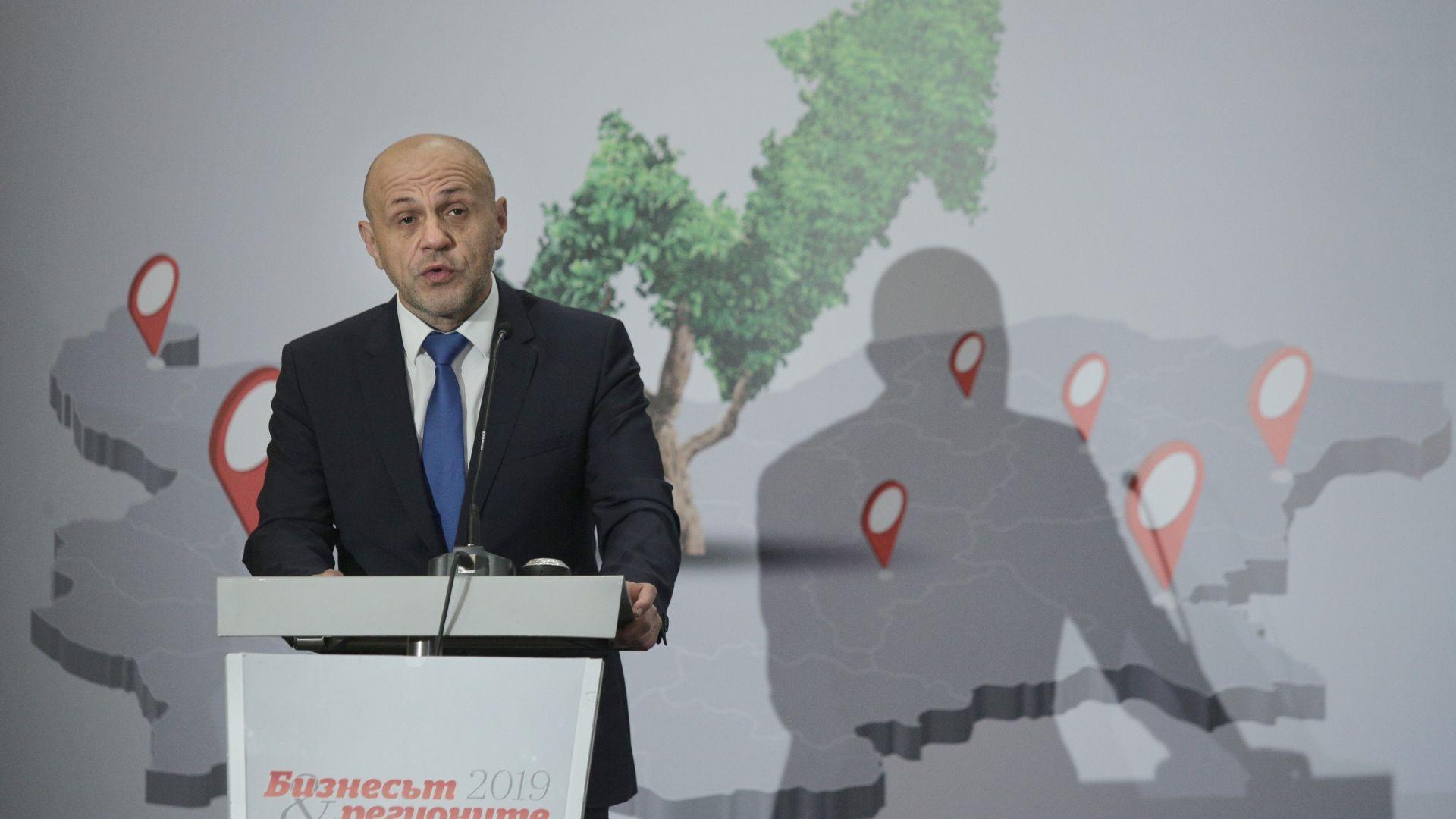 Дончев: Наливането на пари в слаборазвитите региони няма да реши проблемите