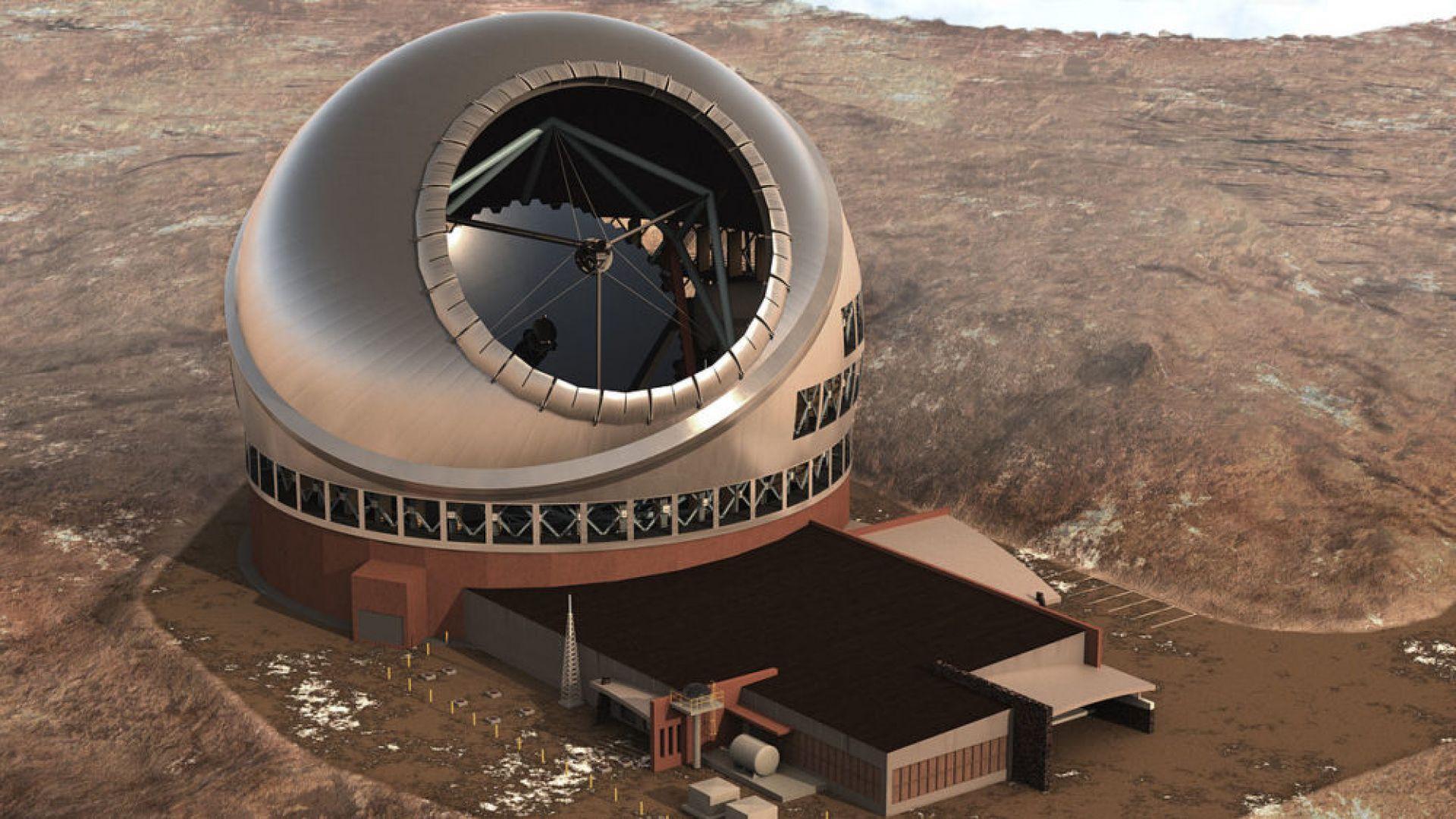 """Изграждат """"мега телескоп"""" на Хаваите"""