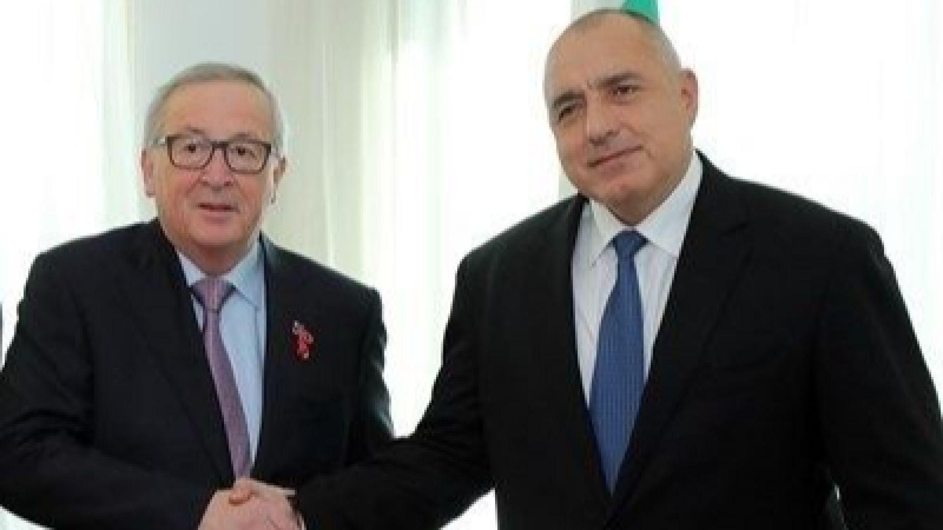 Юнкер: Европредседателството на България е голям успех за разлика от това на други държави