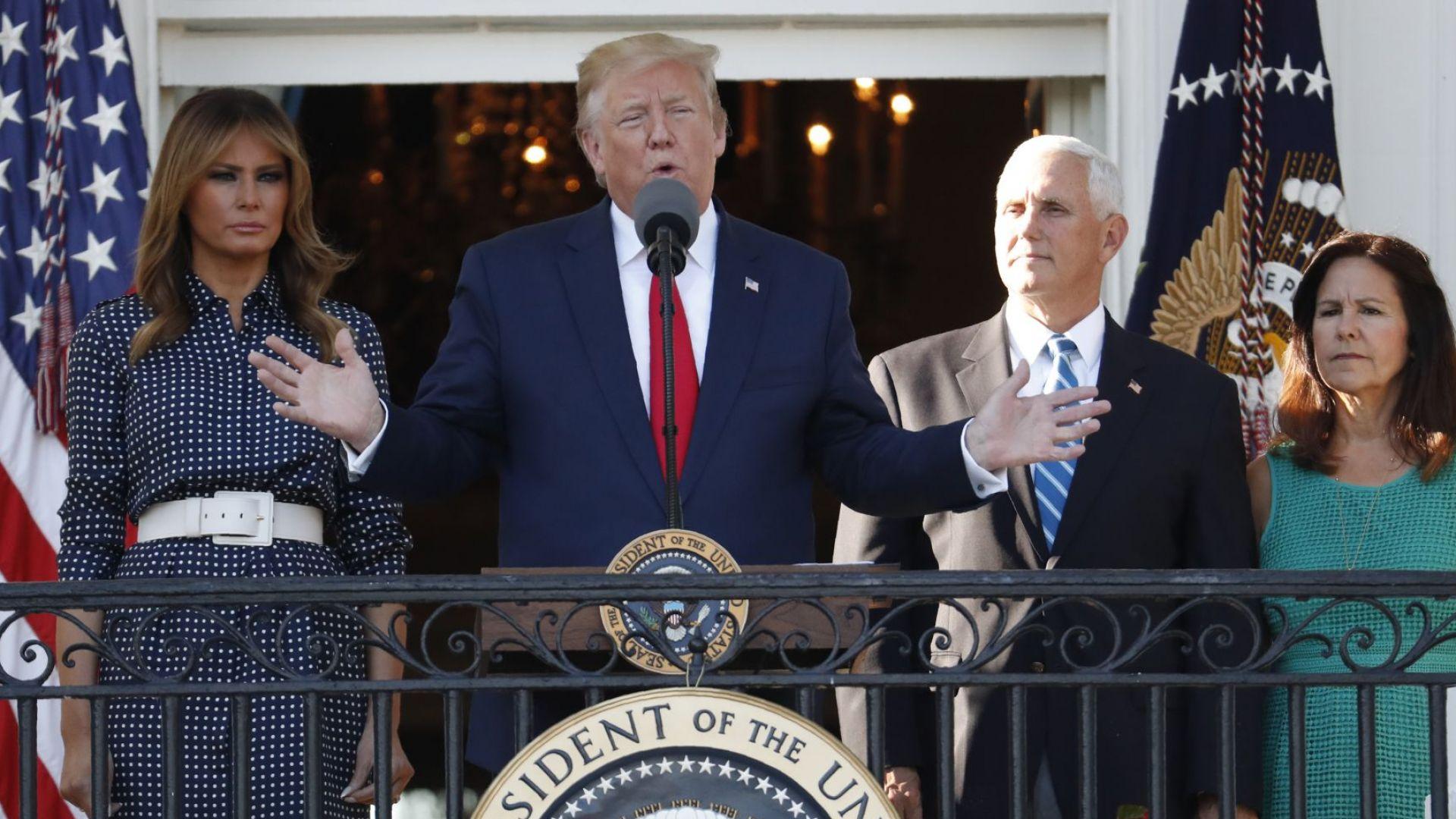 Тръмп: Не искам война с Иран, но ако има, ще бъде унищожителна