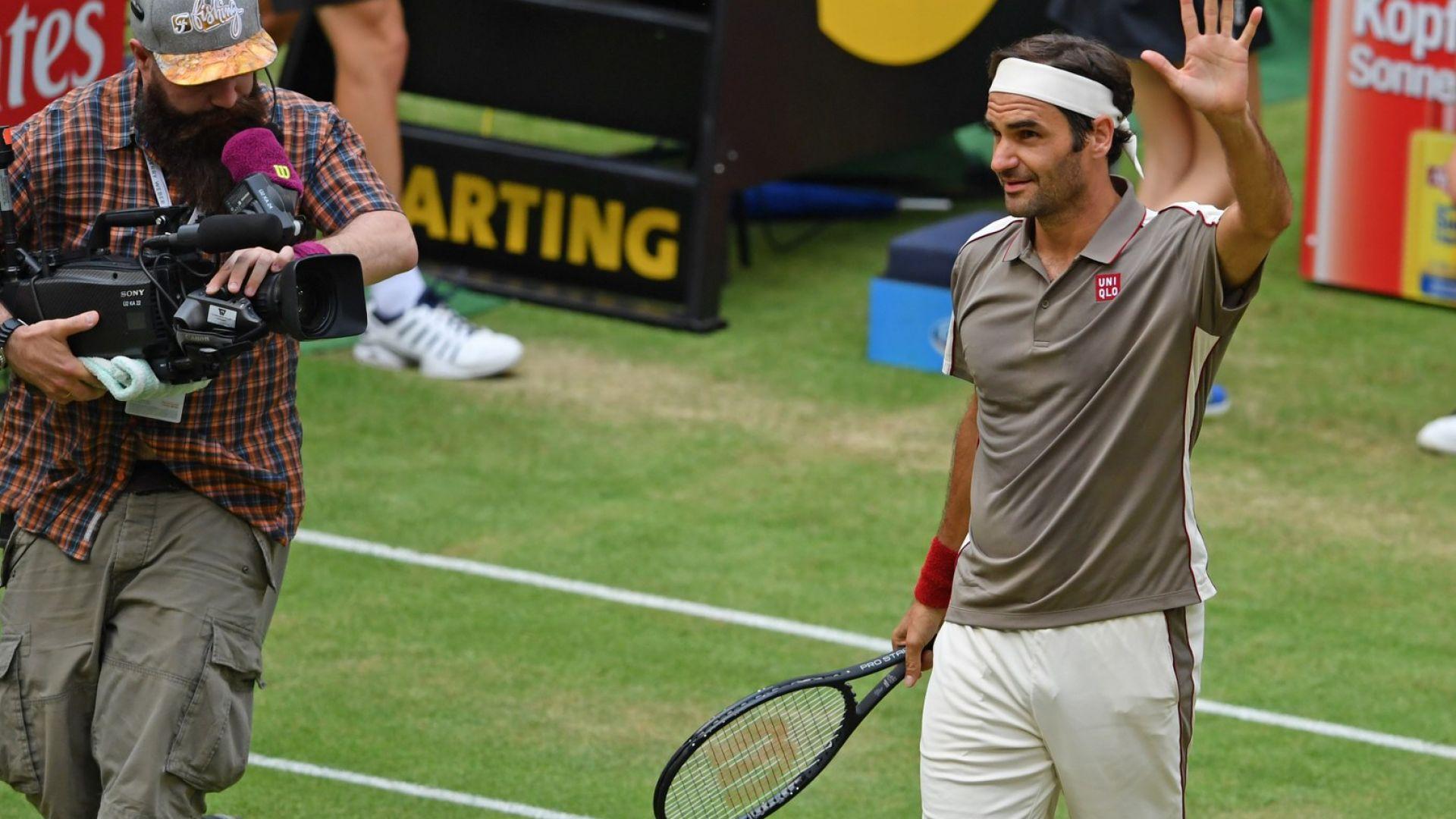 Федерер гравира нов зашеметителен рекорд до името си