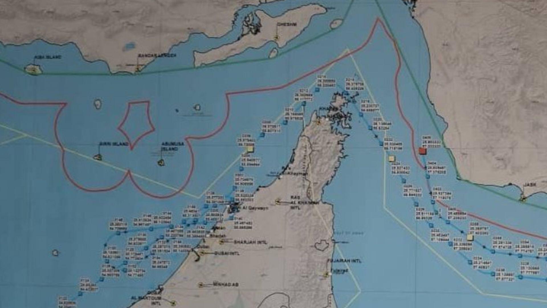 Техеран показа на карта къде е свален дронът, Тръмп налага нови санкции