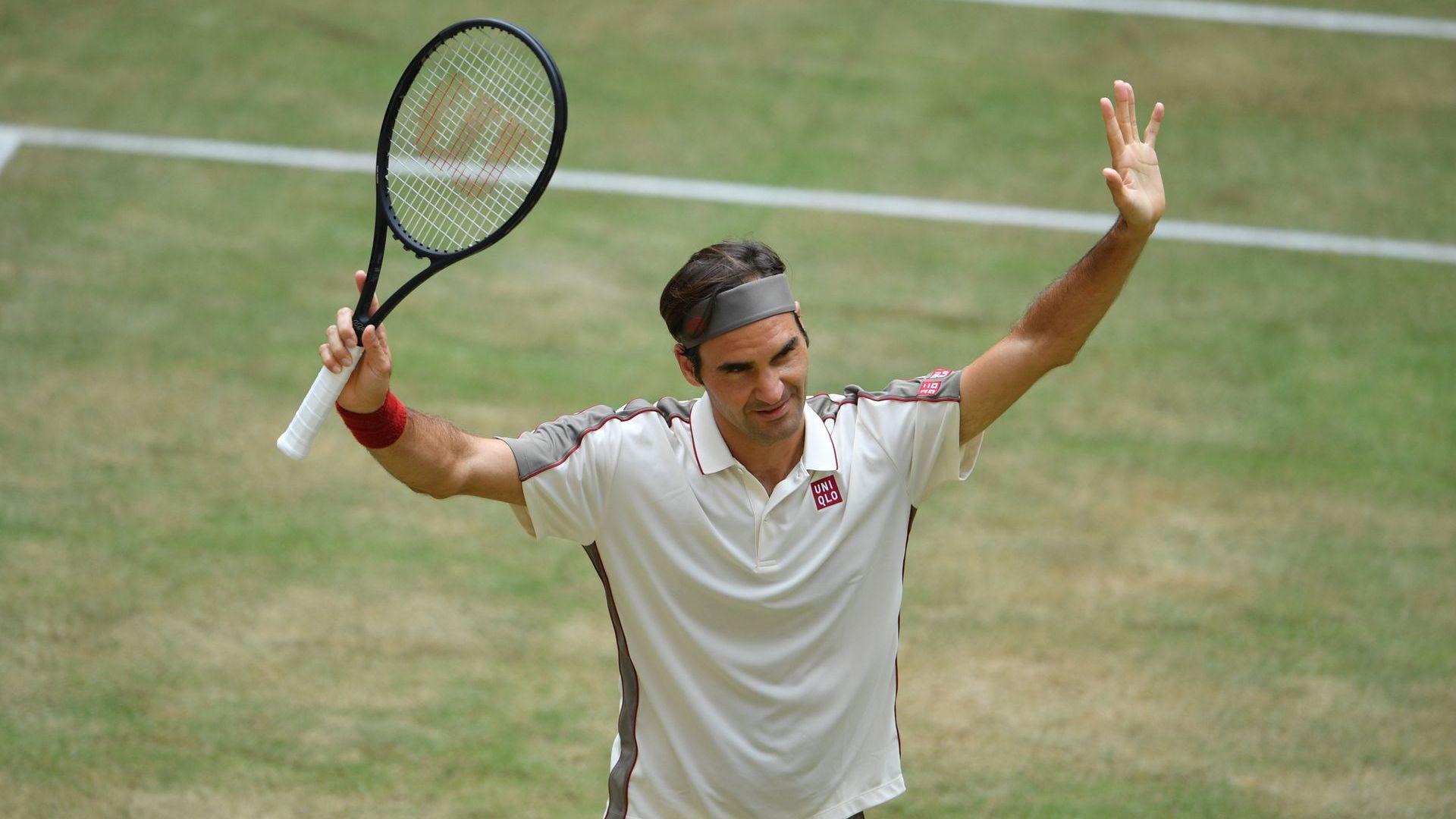 Маестро Федерер вдигна Десетата в Хале и се нареди до Надал