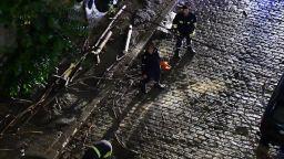Мощната нощна буря в София съборила дървета (снимки/видео)