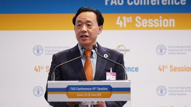 Китаецът Цюй Дунюй оглави ФАО