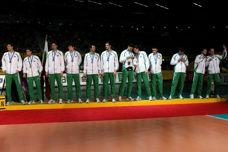Отборът ни, воден от Стоев, с бронз на Световното първенство преди 13 години