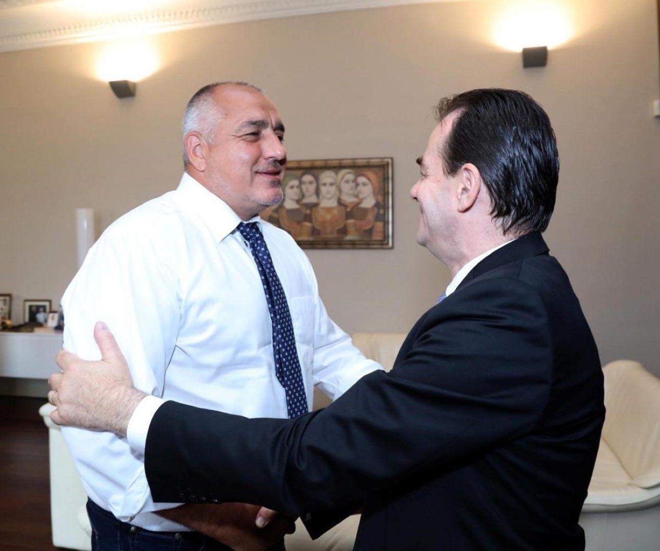 Бойко Борисов и Людовик Орбан - председател на румънската Национална либерална партия, член на ЕНП