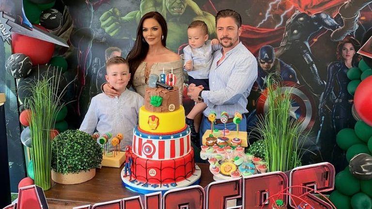 Галена с пищно парти за 10-ия рожден ден на сина си