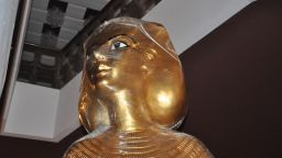 Гробницата на Тутанкамон пристигна в Бургас