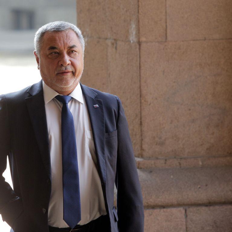 Валери Симеонов, председател на НФСБ