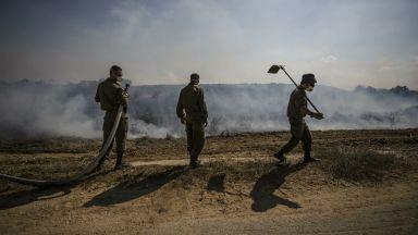 Израел блокира доставките на гориво за ивицата Газа след пускането на възпламеняващи се балони