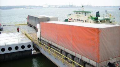 Авария спря ферибота при Свищов