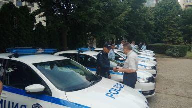 """Патрулиращите полицаи в Русе сядат в 10 нови """"Шкода Рапид"""" (снимки)"""