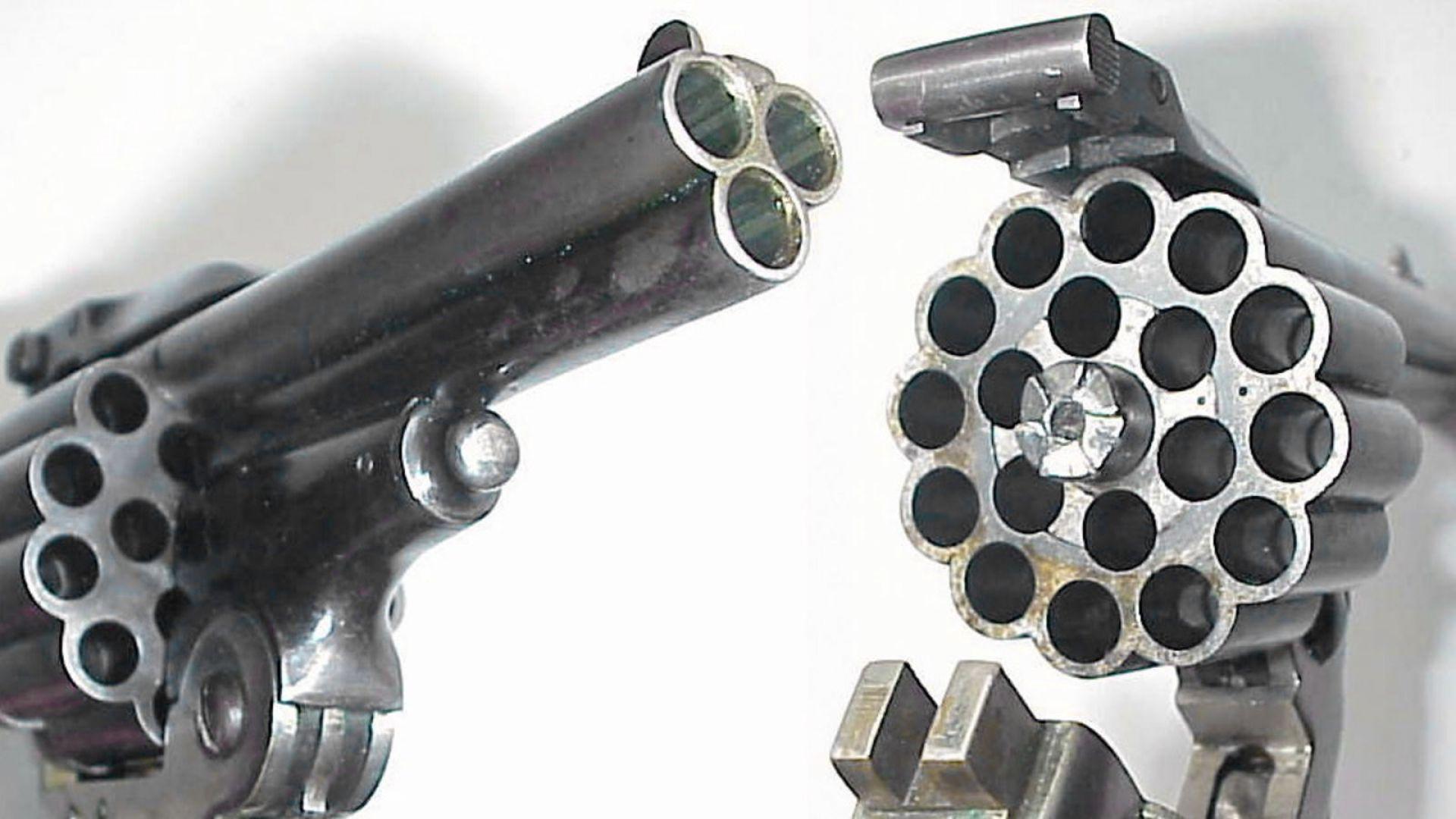 Какво знаем за револвера с 3 цеви