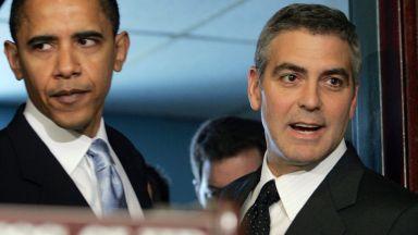 Клуни повози Обама на лодка в езерото Комо