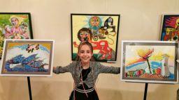 10-годишната пра-пра внучка на Златю Бояджиев с първа изложба
