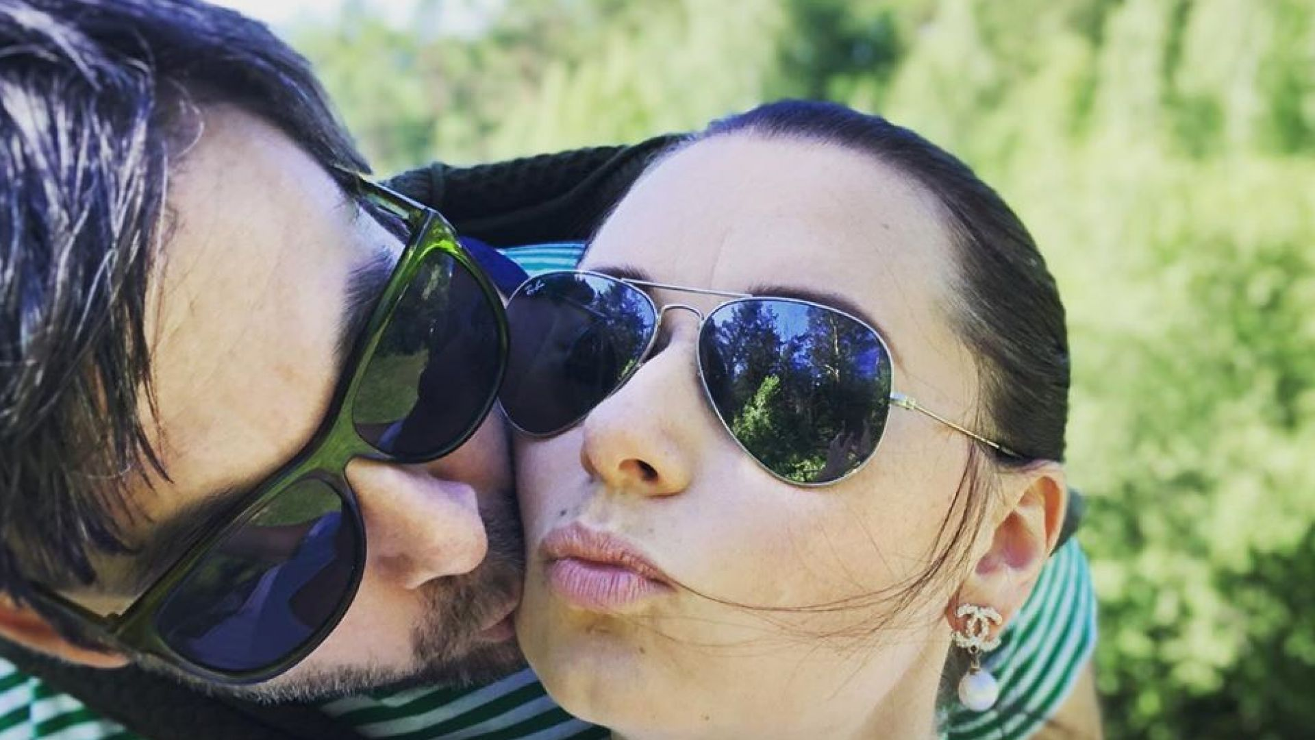 Наталия Кобилкина заведе мъжа си в Русия