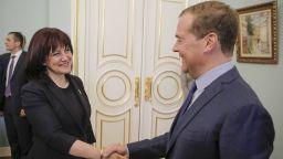 """Медведев: """"Росатом"""" ще се включи в строежа на АЕЦ""""Белене"""""""