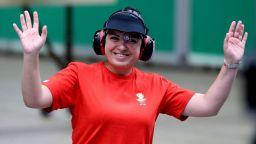 Антоанета Костадинова на финал на 25 м пистолет с първи резултат