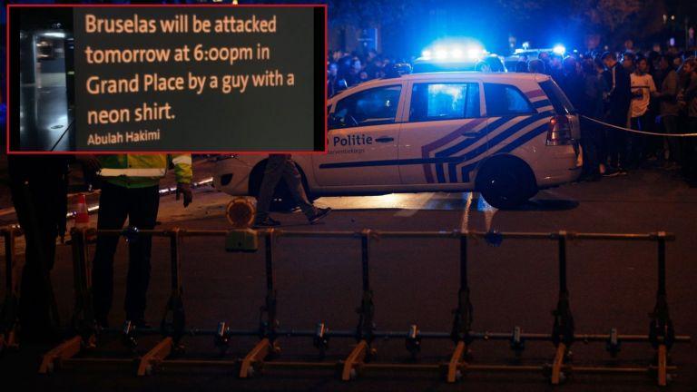 Предупреждение за атентат в Брюксел - тази вечер в 19 часа
