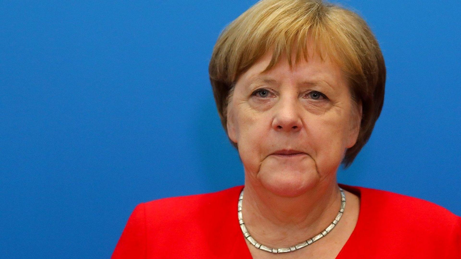 Германската канцлерка Ангела Меркел даде да се разбере, че може