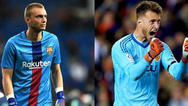 Барса и Валенсия си размениха вратарите