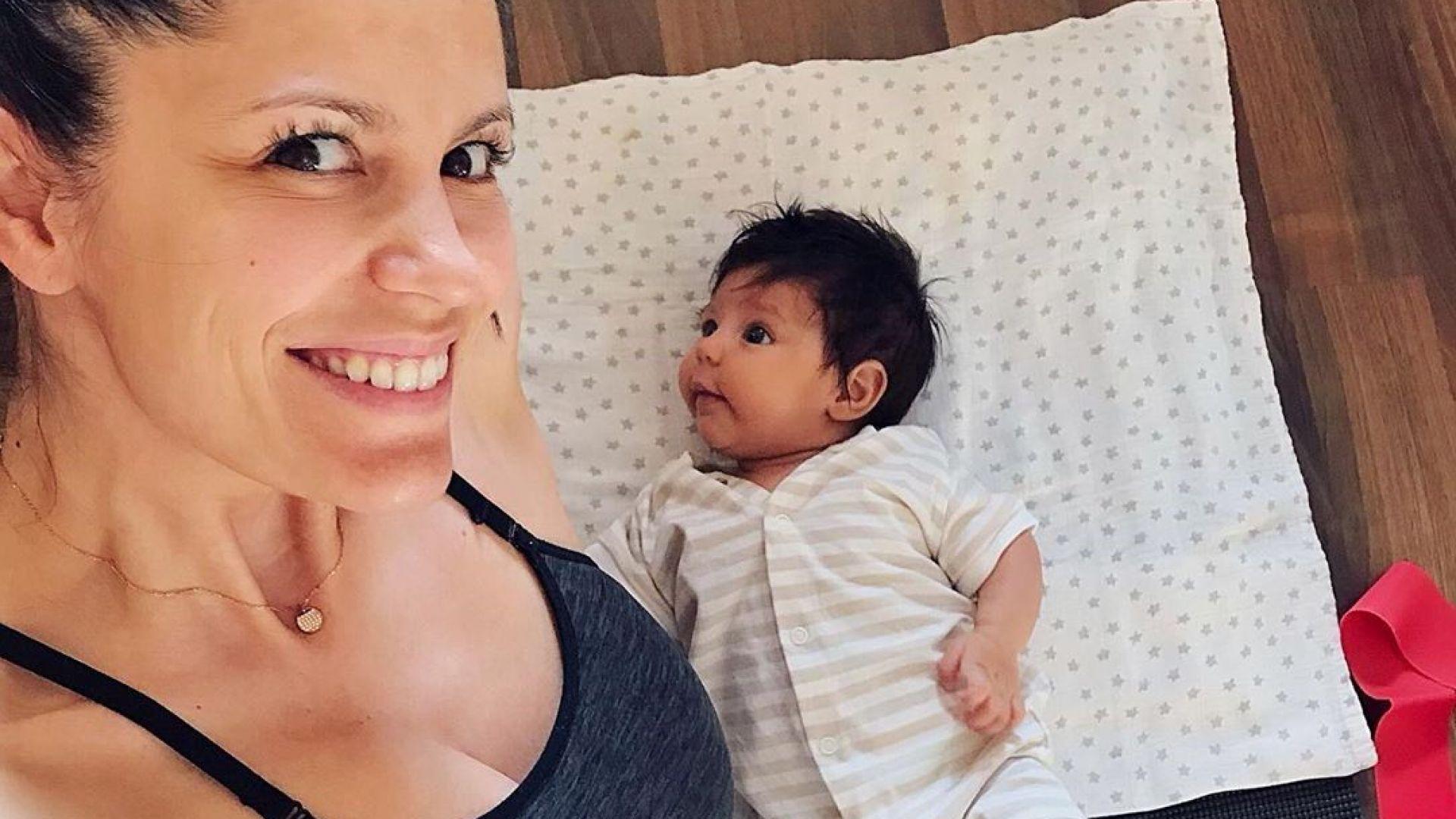 Константина Живова сподели как поддържа форма след раждането
