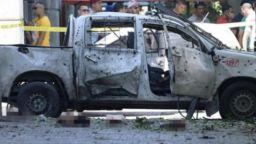 Взривове в центъра на Тунис, камикадзе атакува полицейска кола