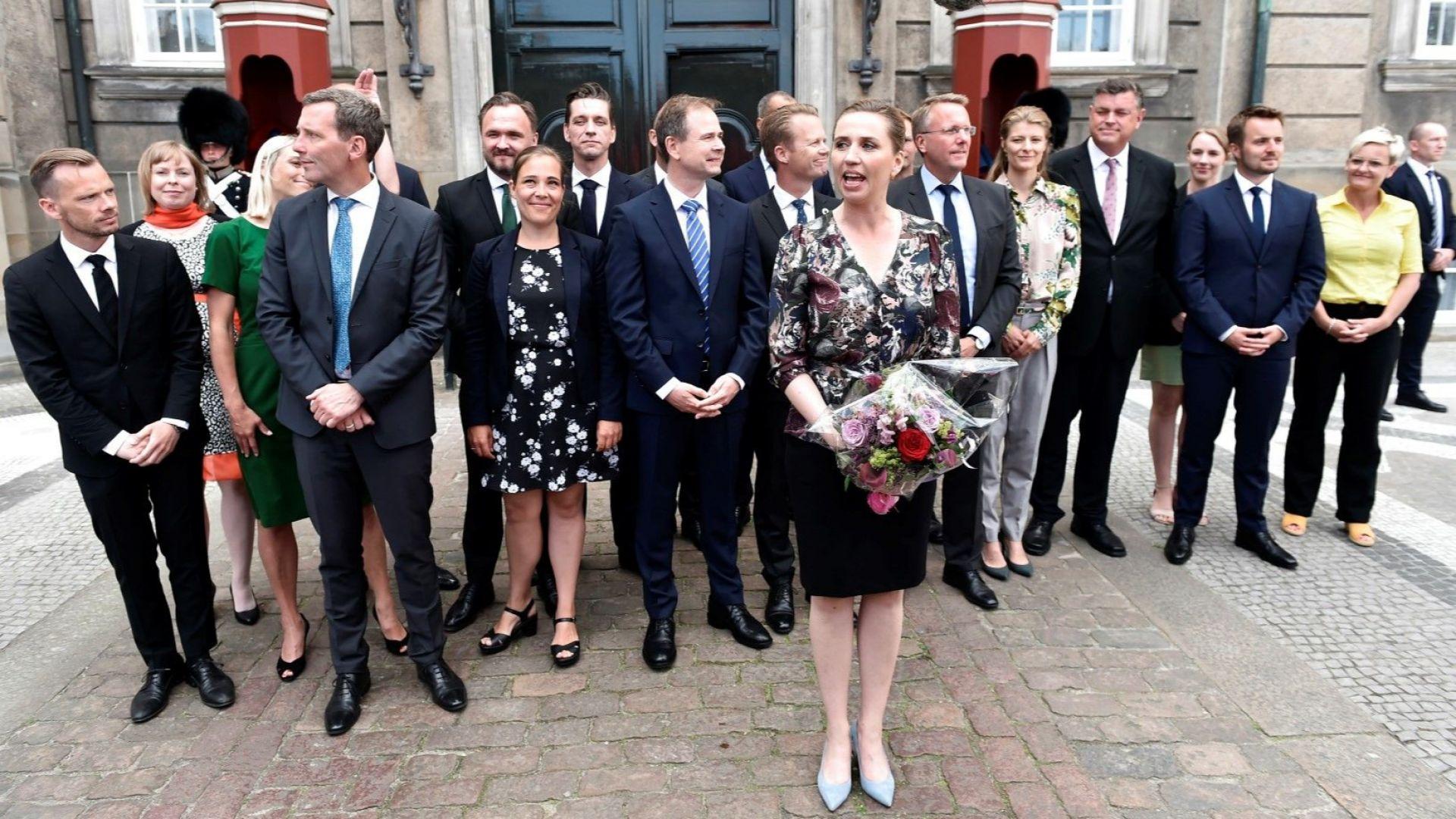 Седем жени в новото правителство на Дания
