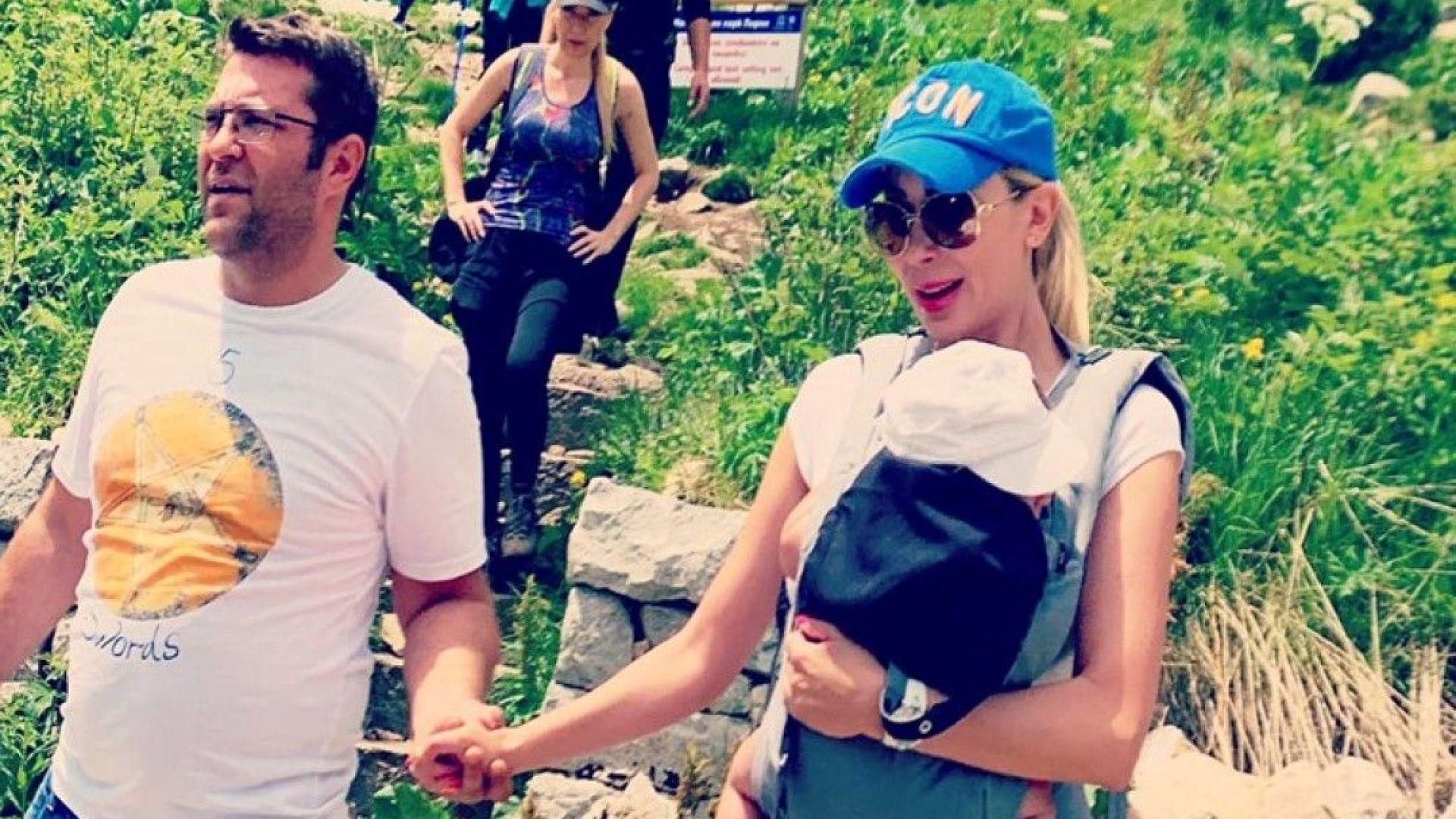 Антония Петрова заведе Благовест на връх Вихрен