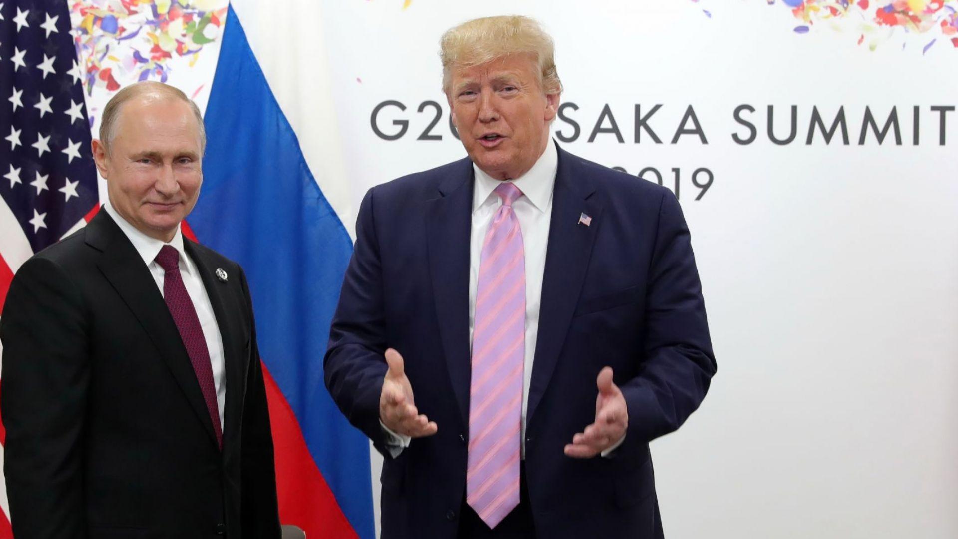 Тръмп и Путин: Подобряваме отношенията си в интерес на света