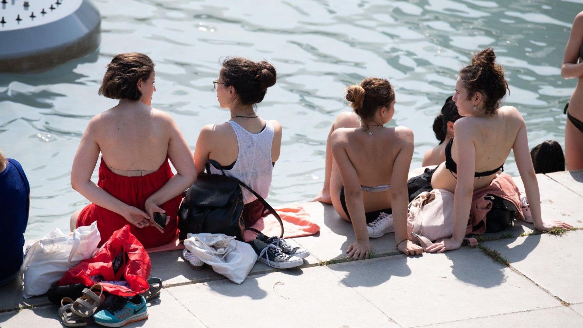 Рекордно високи температури, термометрите във Франция регистрираха 41,9 градуса по Целзий