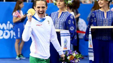 Страхотна Станимира Петрова грабна злато от Европейските игри